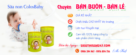 Tổng kho Sữa non ColosBaby