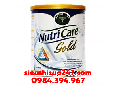 Sữa Nutricare Gold