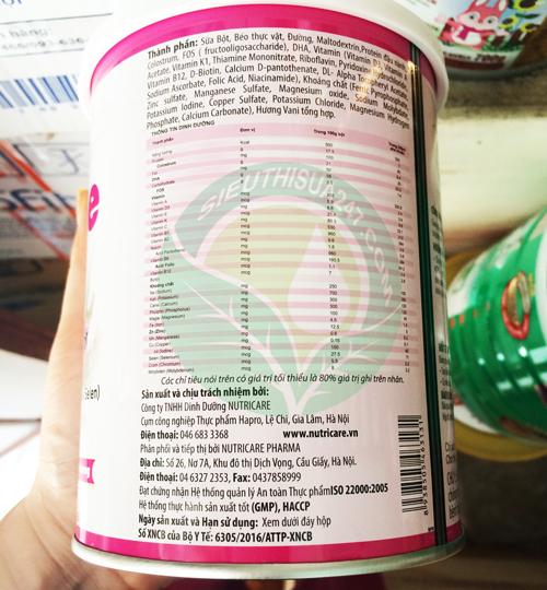 Sữa hanie kid dành cho trẻ biếng ăn và suy dinh dưỡng