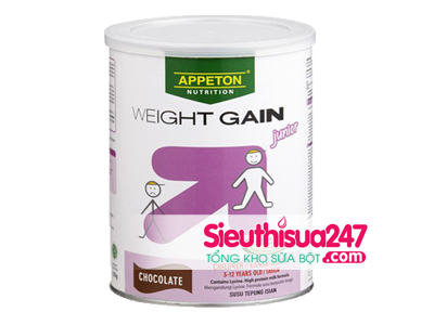 Appeton Weight Gain Junio SCL trẻ em 900g